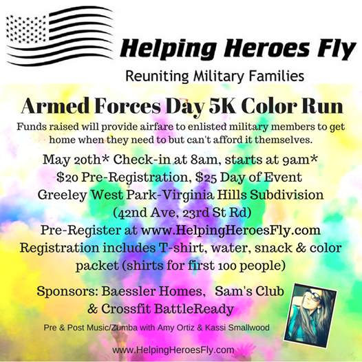 Armed Forces Day Color Run