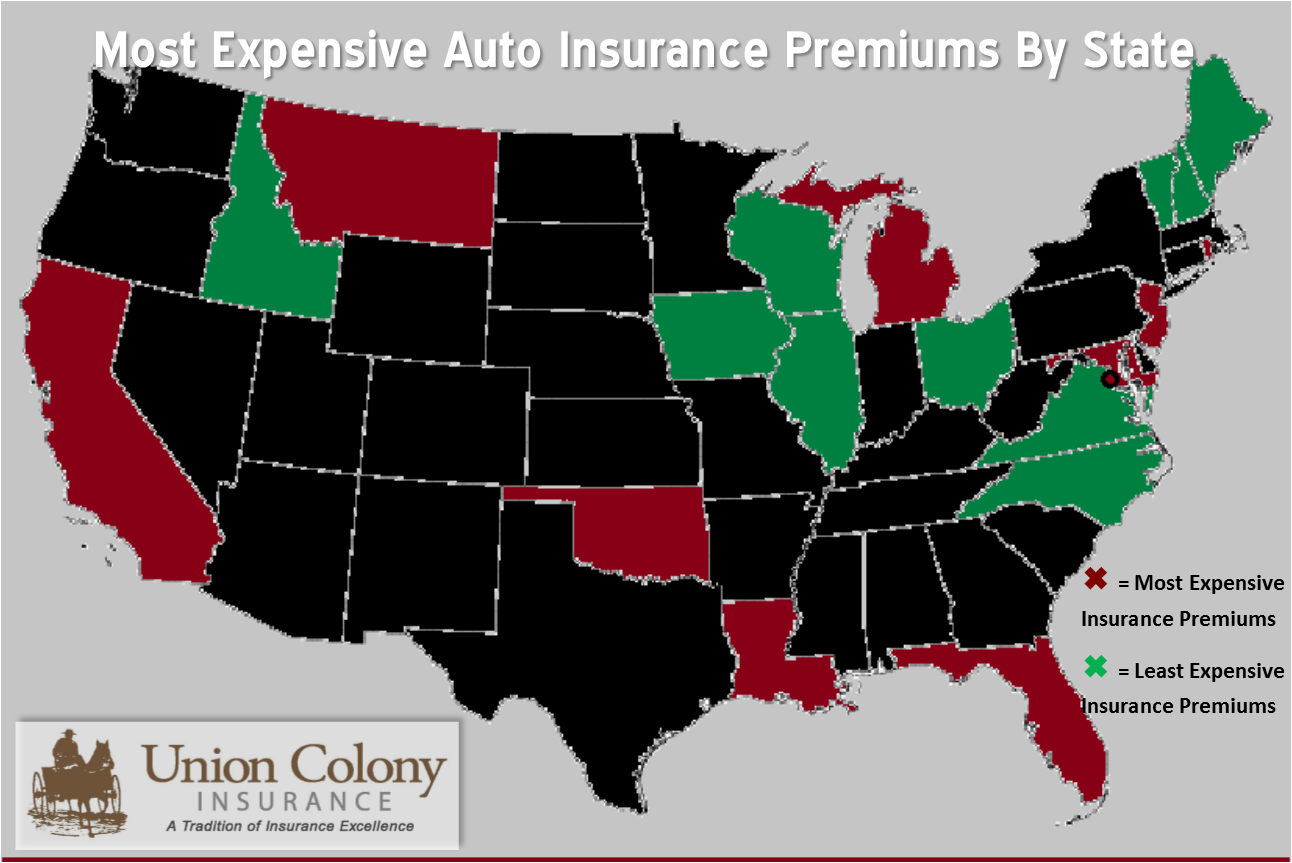 Does The State You Live In Effect Your Insurance Rate